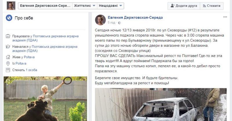 www.facebook.com Євгенія Держговска-Середа