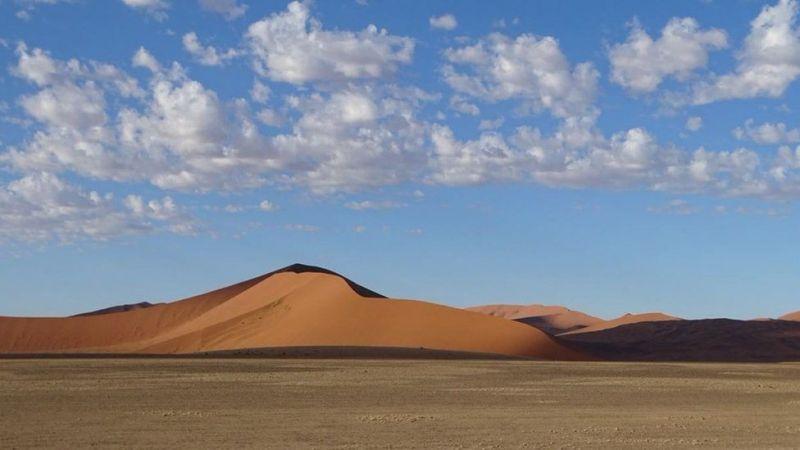Пустеля Sossusvlei в Намібії. Джерело: ANNA GRECHISHKINA