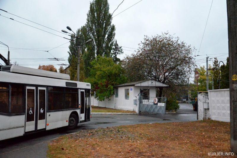 Тролейбусне депо у Києві