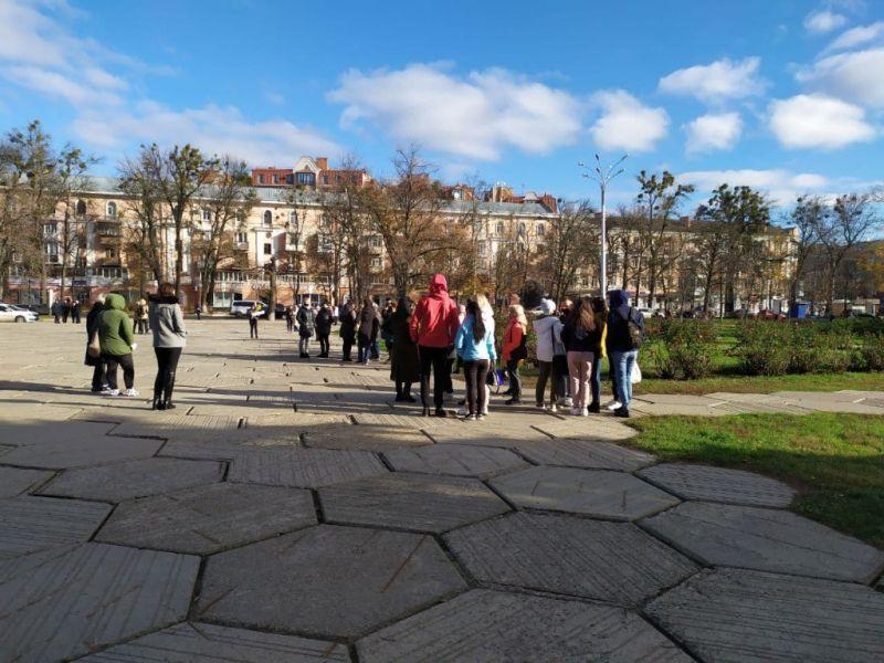 Мітинг під Полтавською ОДА